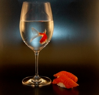 fish-in-wine-glass